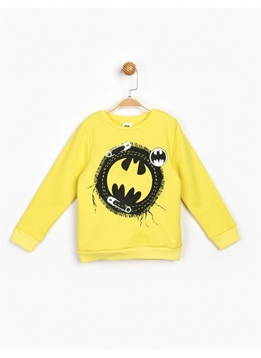 Batman Sweatshirt Sarı
